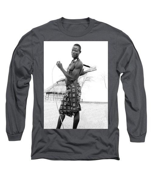 Karo Man  Long Sleeve T-Shirt