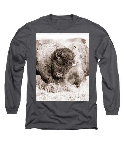 Kicking Up The Dirt Long Sleeve T-Shirt