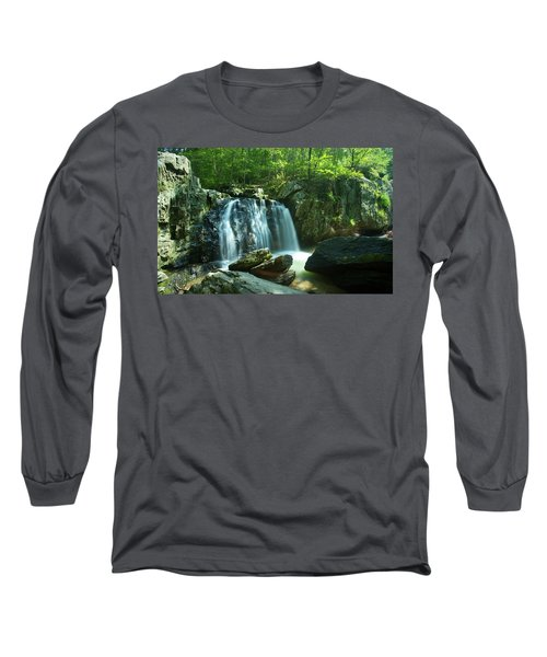 Kilgore Falls In Summer Long Sleeve T-Shirt