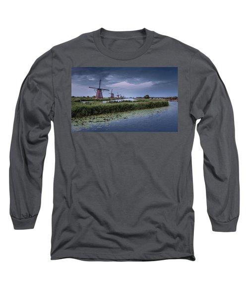 Kinderdijk Dark Sky Long Sleeve T-Shirt