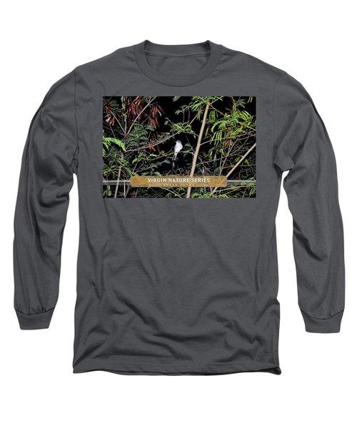 Kingbird In Casha - Virgin Nature Series Long Sleeve T-Shirt