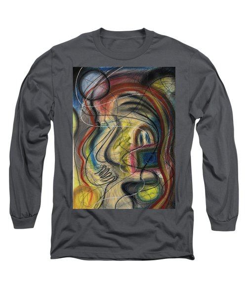 Lady With Purse Long Sleeve T-Shirt