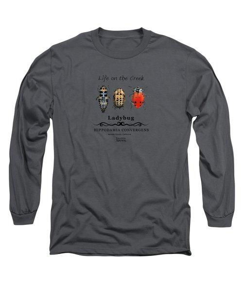 Ladybug Life Cycle Long Sleeve T-Shirt