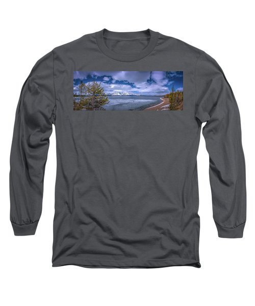 Lake Jackson Wyoming Long Sleeve T-Shirt