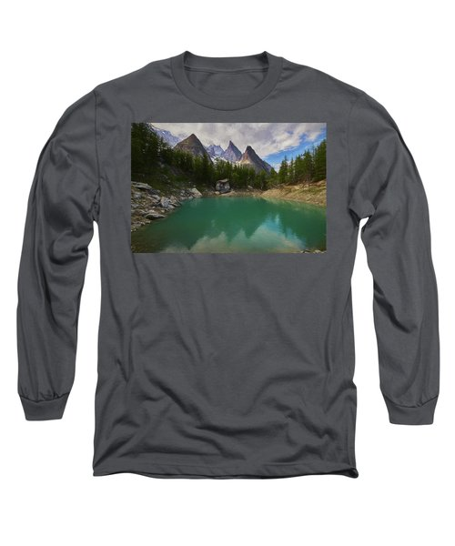 Lake Verde In The Alps II Long Sleeve T-Shirt