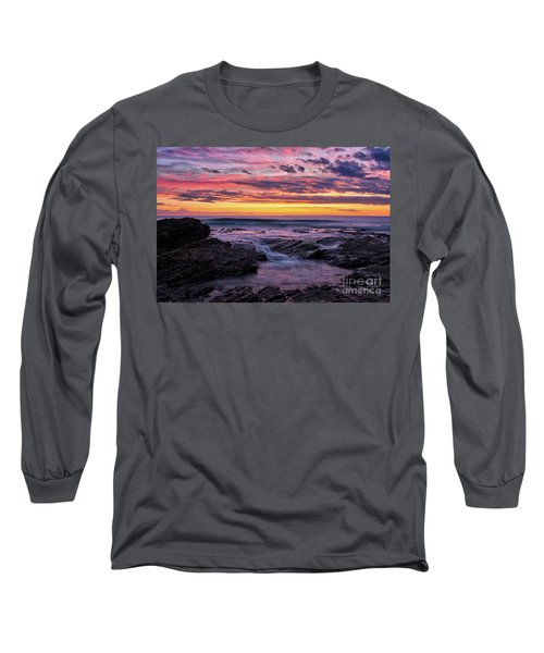 Last Sunset Of 2018 Long Sleeve T-Shirt
