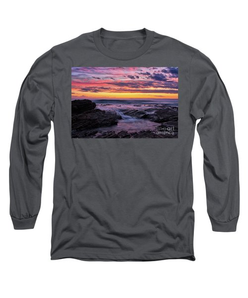 Last Sunset Of 2018 Long Sleeve T-Shirt
