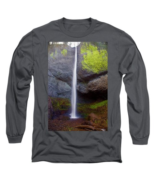 Latourell Falls Long Sleeve T-Shirt