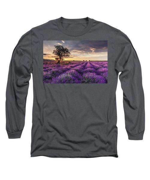 Lavender Sunrise Long Sleeve T-Shirt