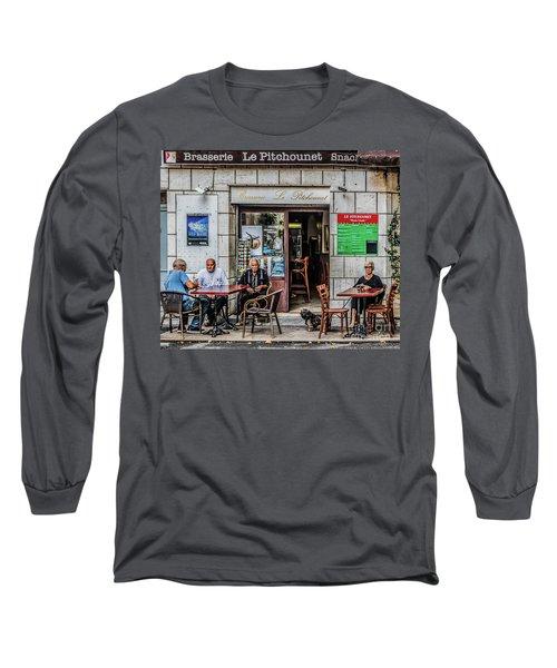 Le Pitchounet Brasserie Long Sleeve T-Shirt