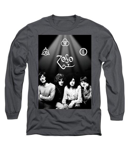 Led Zeppelin Band Tribute Long Sleeve T-Shirt