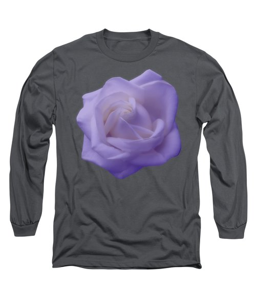 Light Purple Rose Long Sleeve T-Shirt