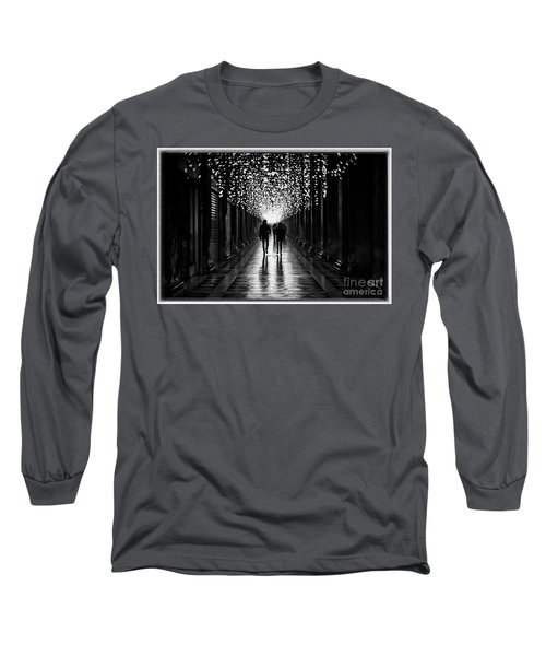Light, Shadows And Symmetry Long Sleeve T-Shirt