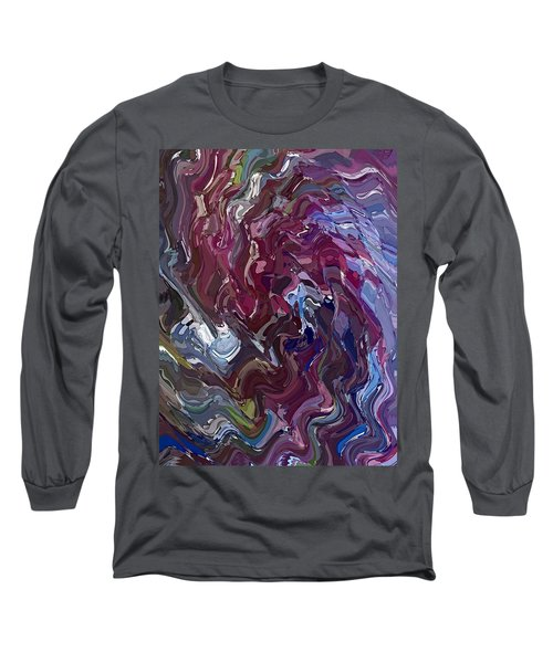 Lilac Oil Long Sleeve T-Shirt