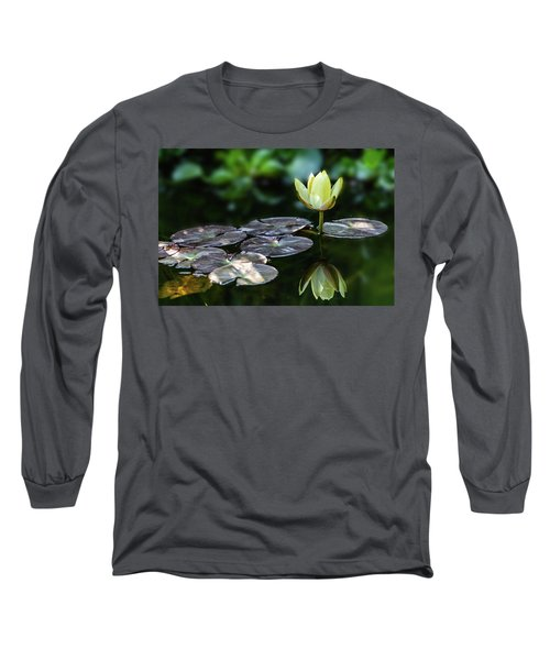 Lily In The Pond Long Sleeve T-Shirt