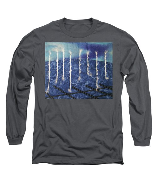 Lines Of Text Long Sleeve T-Shirt