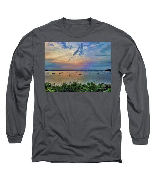 Long Island Sound From Glen Cove Long Sleeve T-Shirt