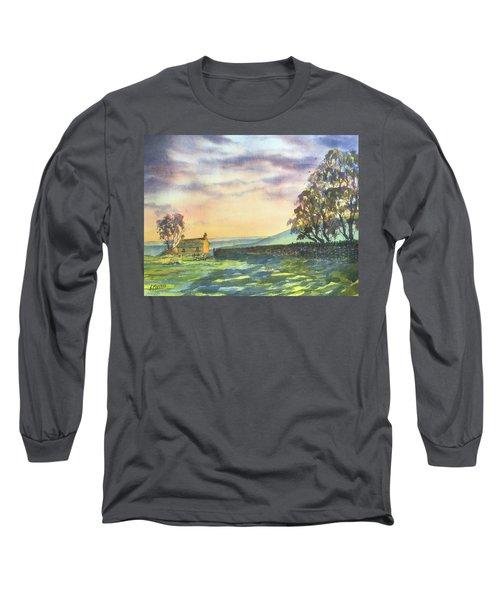 Long Shadows At Sunset Long Sleeve T-Shirt