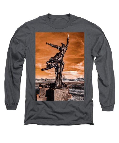 Louisiana Monument Long Sleeve T-Shirt