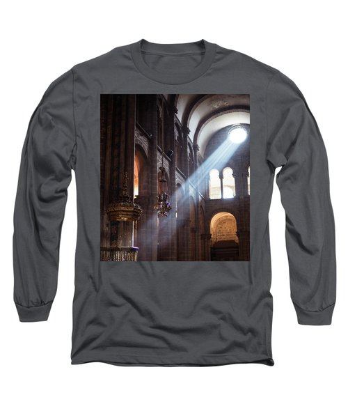 Long Sleeve T-Shirt featuring the photograph Lux by Alex Lapidus