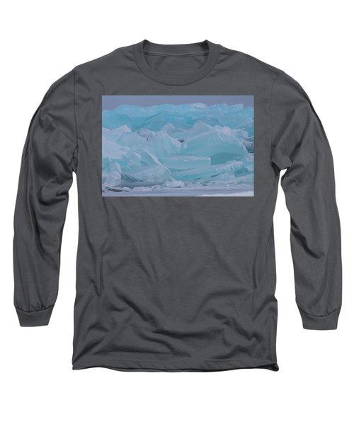 Mackinaw City Ice Formations 21618010 Long Sleeve T-Shirt