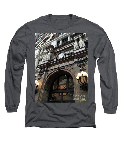 Macys Herald Square Nyc Long Sleeve T-Shirt
