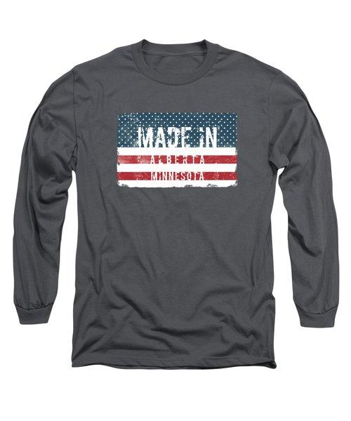 Made In Alberta, Minnesota Long Sleeve T-Shirt