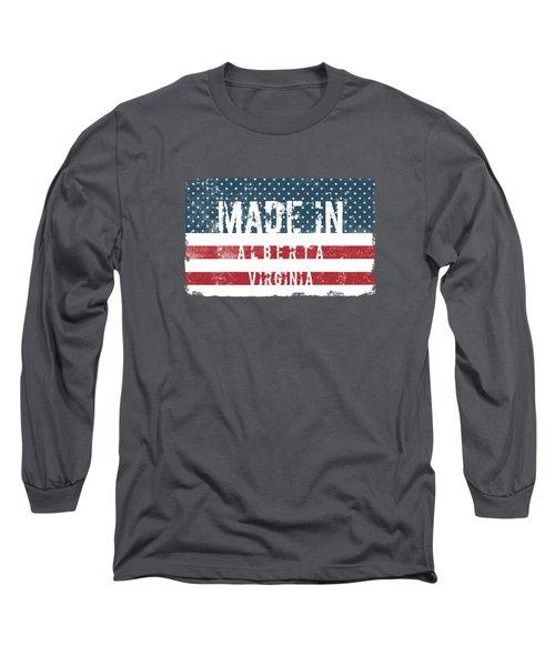 Made In Alberta, Virginia Long Sleeve T-Shirt