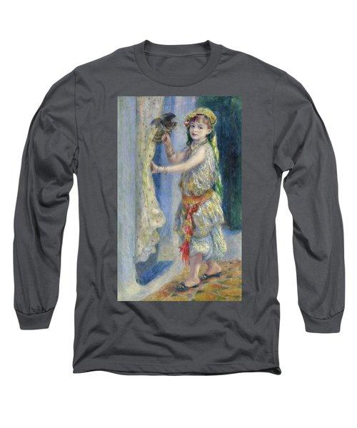 Mademoiselle Fleury In Algerian Costume, 1882 Long Sleeve T-Shirt