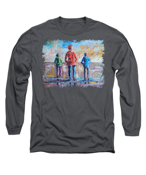Male Models Long Sleeve T-Shirt