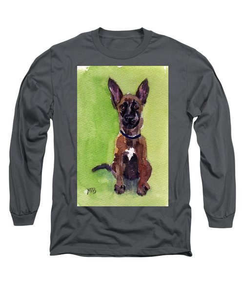 Malinois Pup 2 Long Sleeve T-Shirt