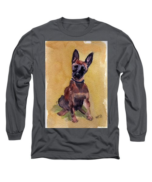 Malinois Pup Long Sleeve T-Shirt