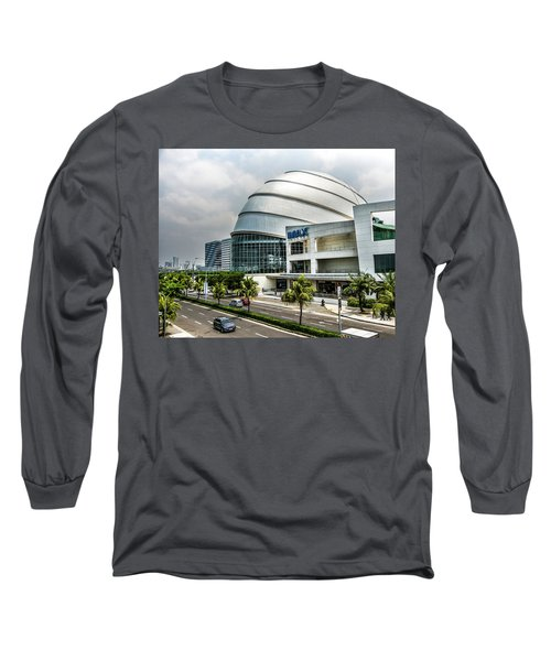 Long Sleeve T-Shirt featuring the photograph Mall Of Asia 4 by Michael Arend