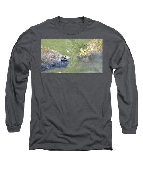 Manatee Love Long Sleeve T-Shirt