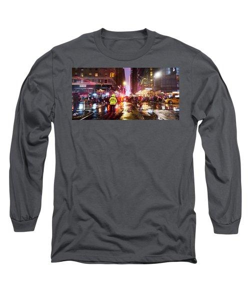 Manhattan Nye Long Sleeve T-Shirt
