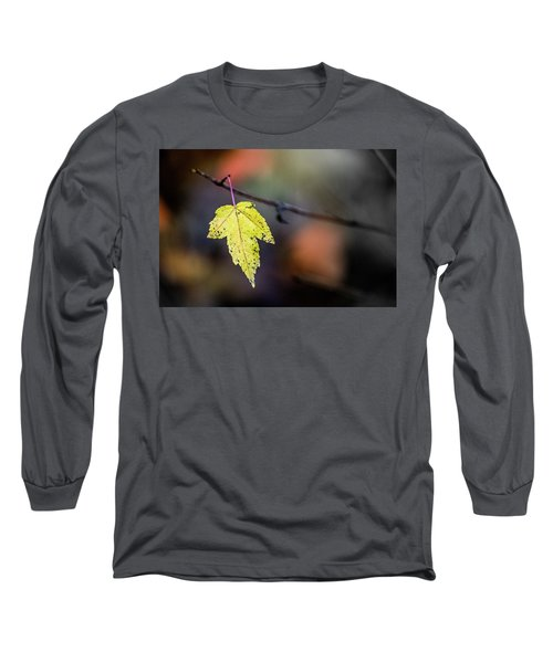 Long Sleeve T-Shirt featuring the photograph Maple Flag by Michael Arend