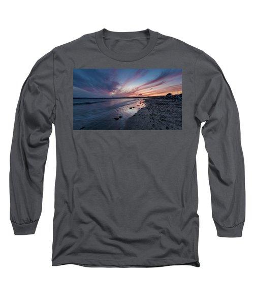 Marazion Sunset - Cornwall Long Sleeve T-Shirt