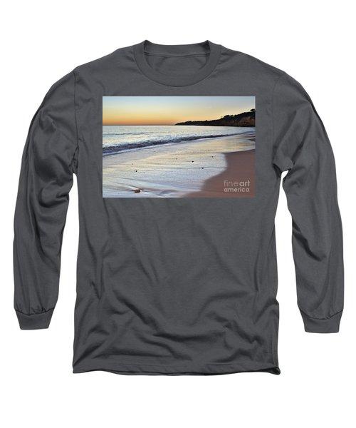 Maria Luisa Beach In Albufeira Long Sleeve T-Shirt