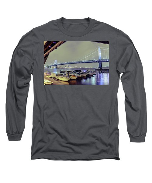 Marina Lights Long Sleeve T-Shirt