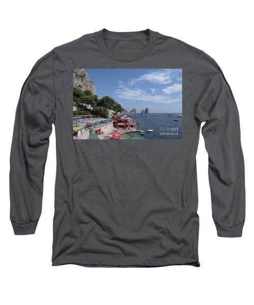 Marina Piccola Beach Long Sleeve T-Shirt