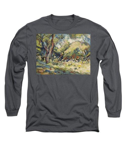 Marmari Olive Orchard Paxos Long Sleeve T-Shirt