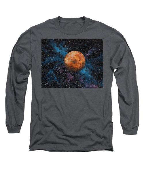 Mars And Stars Long Sleeve T-Shirt