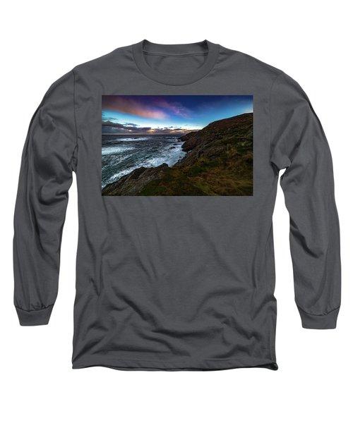 massive storm near Nyksund Long Sleeve T-Shirt