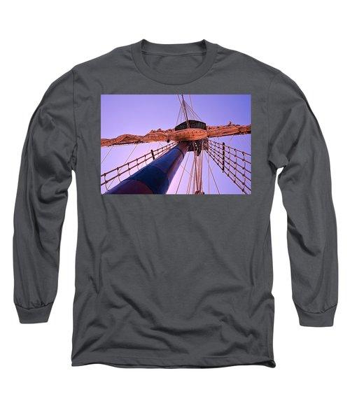 Mast And Sails Long Sleeve T-Shirt