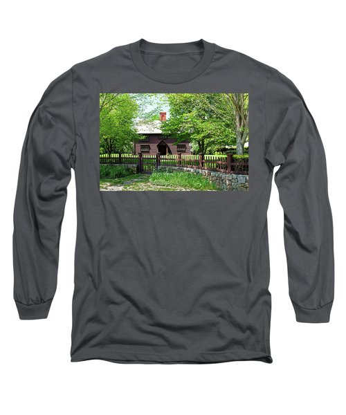 Long Sleeve T-Shirt featuring the photograph Matthew Whipple House by Wayne Marshall Chase