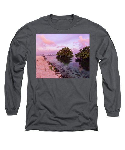 Mayan Sea Reflection Long Sleeve T-Shirt