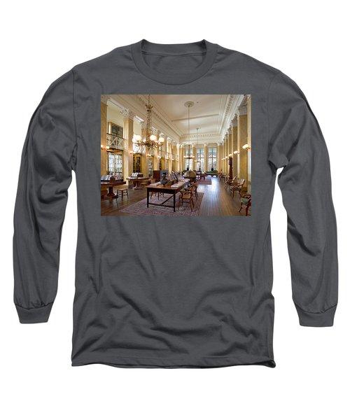 Members' Reading Room Long Sleeve T-Shirt