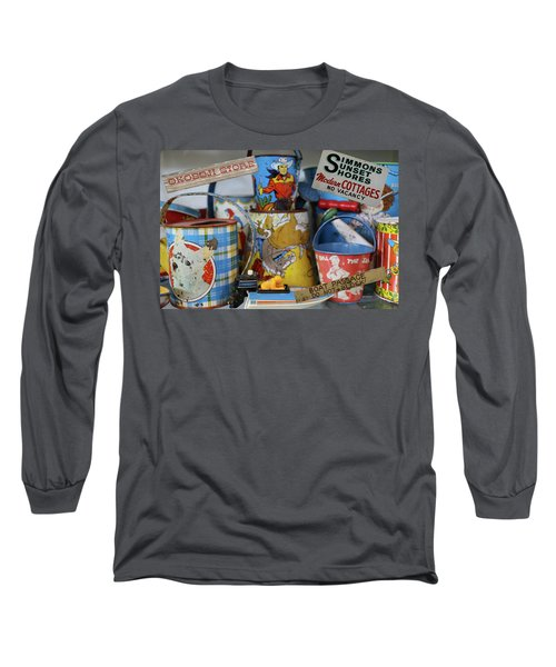 Memories Of Iowa Great Lakes Long Sleeve T-Shirt