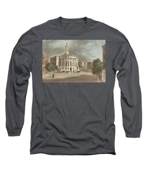 Merchants Exchange, 1838 Long Sleeve T-Shirt