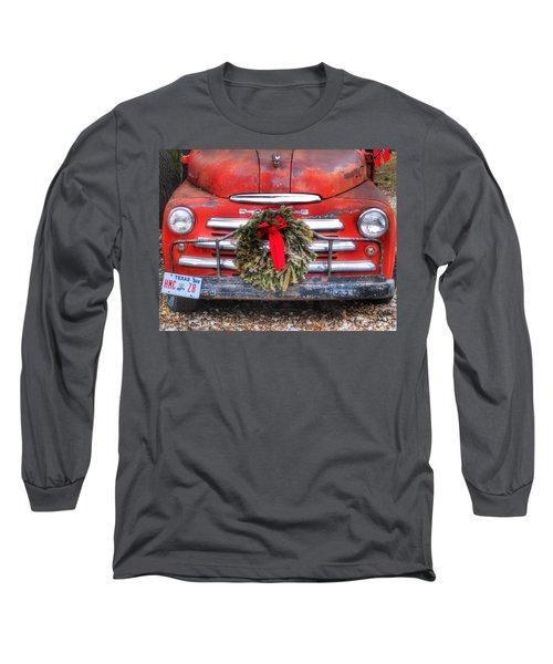 Merry Christmas Texas Long Sleeve T-Shirt